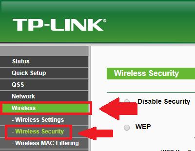 configurar la seguridad del wifi