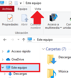 previsualizar formato de archivo en windows 10