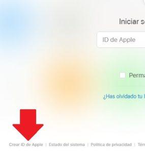 crear cuenta icloud desde la pc