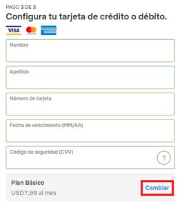 ingresar metodo de pago en cuenta netflix