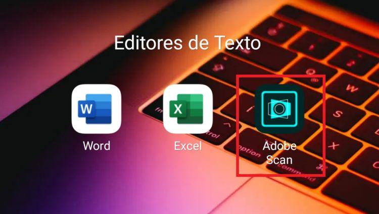 app adobe scan para smartphones