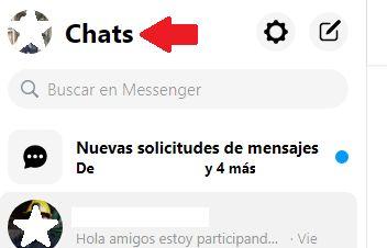 entrar a mensajes de facebok messenger