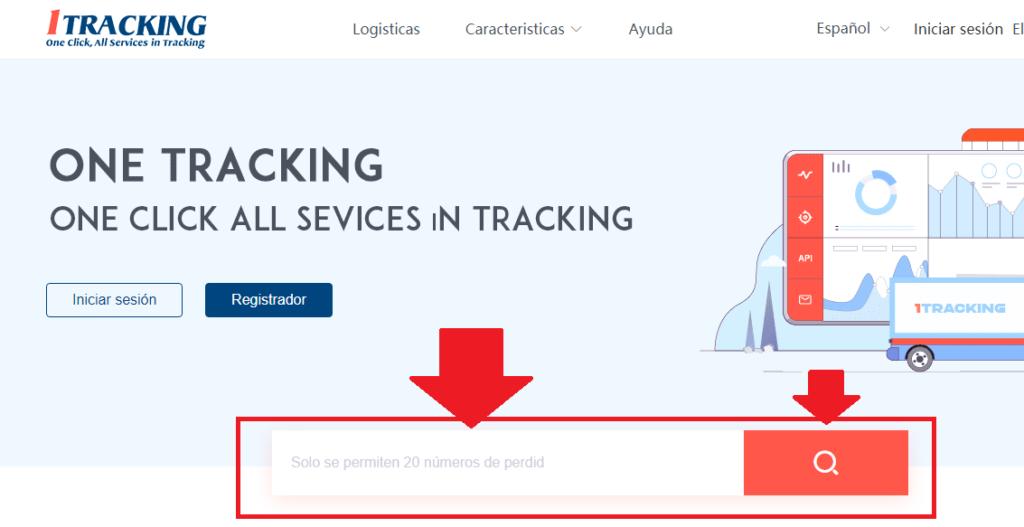 evaluar ubicacion del pedido de aliexpress con 1tracking