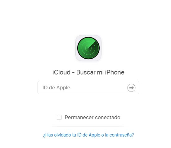 Apple ID desde icloud restaurar equipo bloqueado