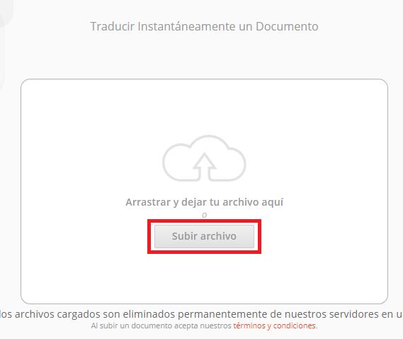 traducir pdf con doc translator