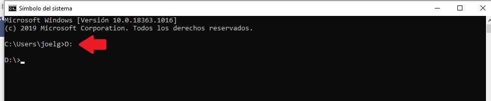 eliminar virus acceso directo desde simbolo del sistema cmd