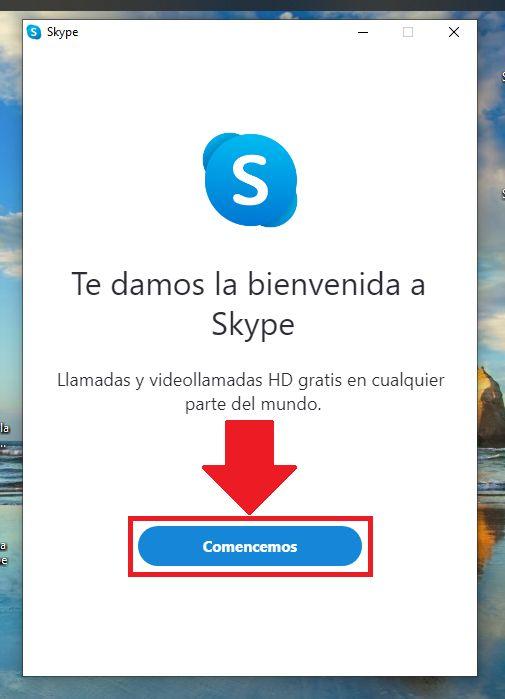 como instalar skype