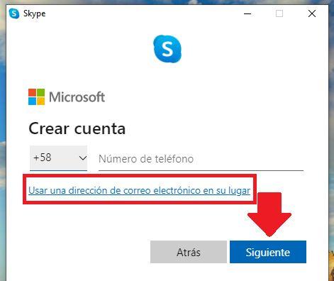 como crear una cuenta de skype paso a paso