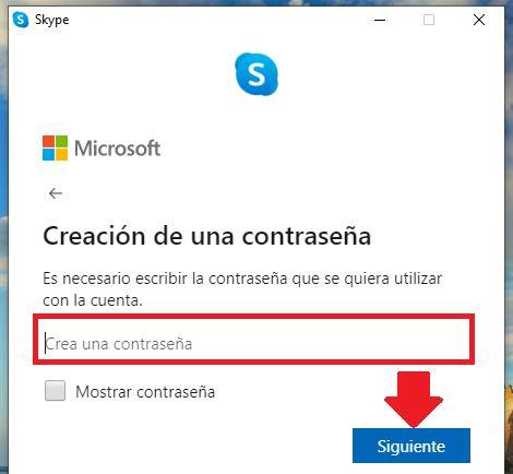 configurar seguridad en skype