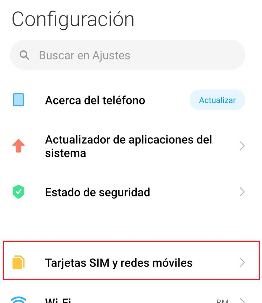configurar redes moviles telefonia dominicana android