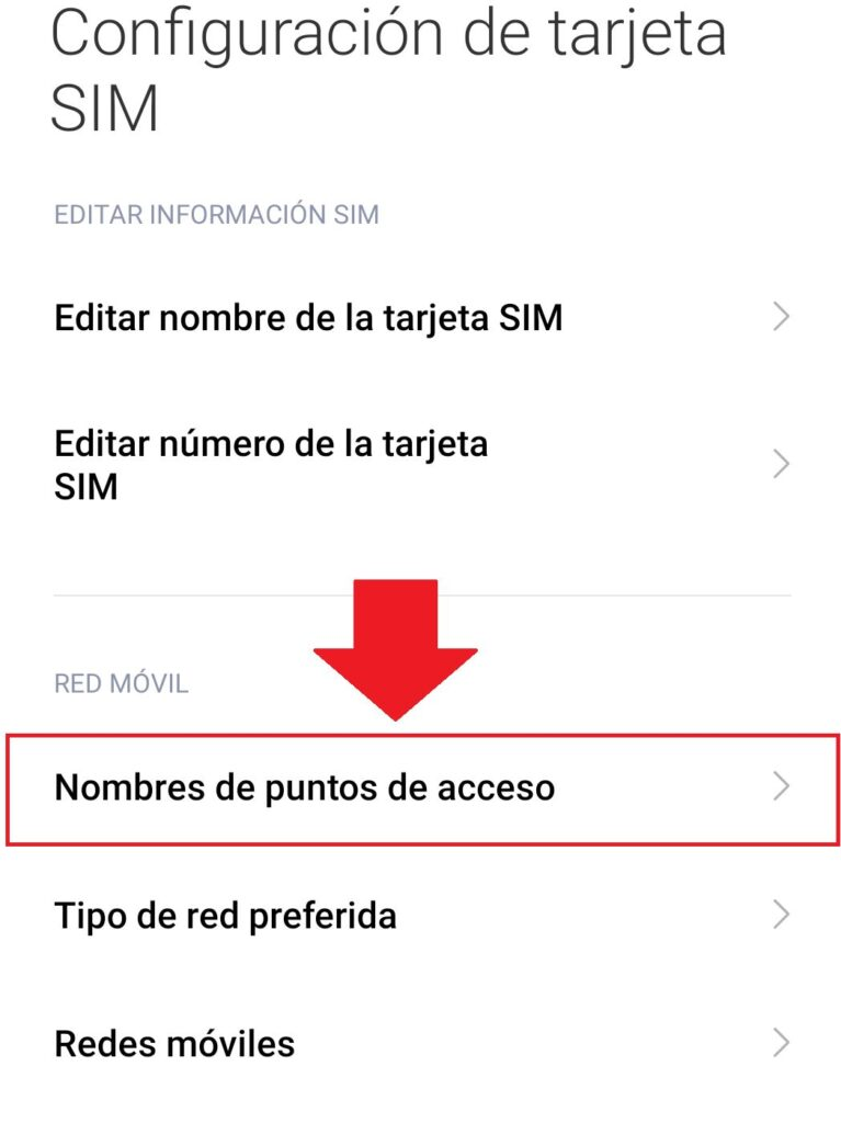 editar o conectar una apn de telefonia claro viva dominicana