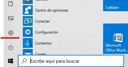 Activar Bluetooth en Windows 10 desde Configuración