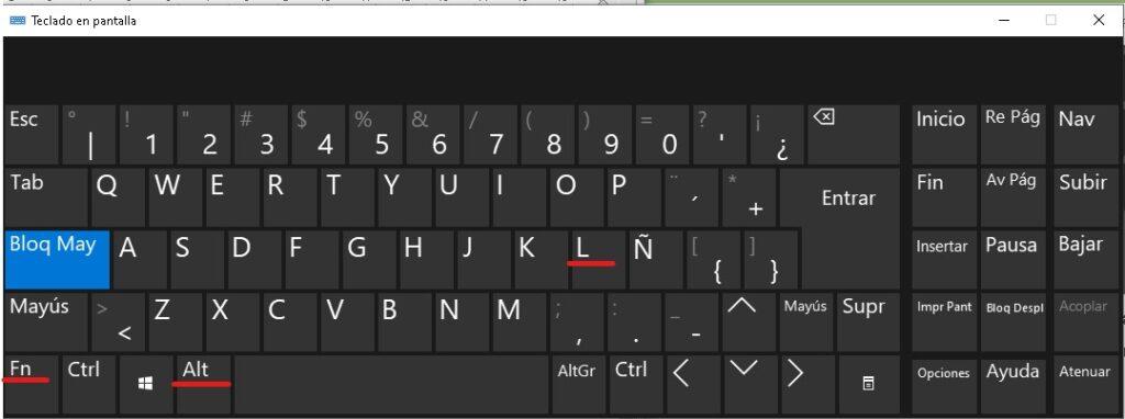 simbolo del corazon en teclados numericos integrados