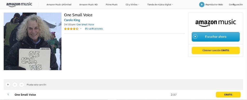 Amazon descargar musica gratis legalmente