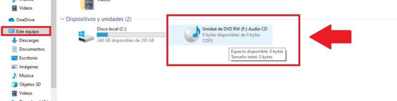 convertir cda a mp3 windows 10 con windows media