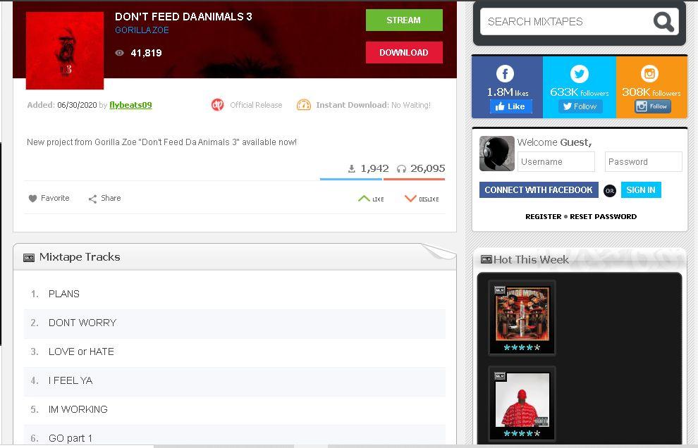descargar musica gratis legalmente, paso 1
