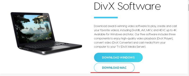 descargar divx software