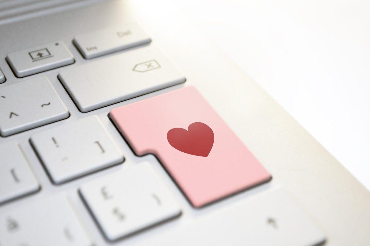 simbolo del corazon con el teclado