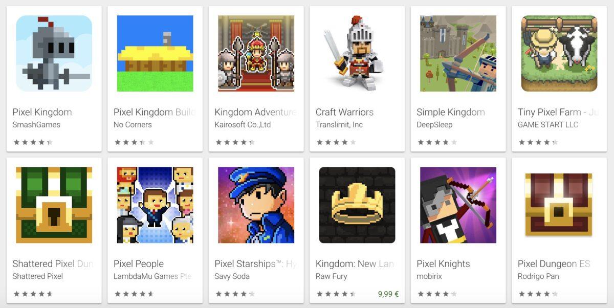 juegos que pesan pocos en android y en iphone