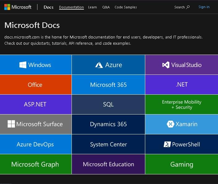 Conseguir una licencia de activación desde Microsoft Docs.