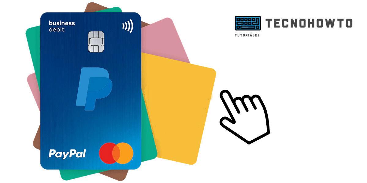 como solicitar la tarjeta de paypal