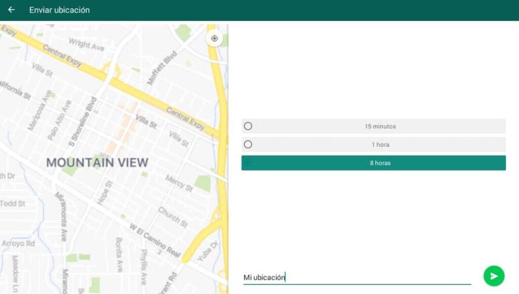 como compartir tu ubicacion en whatsapp legalmente
