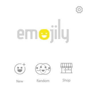 """Opción """"New"""" de Emojily."""