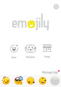 Tu emoji guardado en tu lista de emojis creados de Emojily.