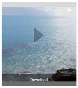 """Miniatura del vídeo de Instagram a descargar con el botón """"Download"""" de Ingramer."""