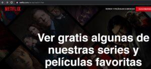 Enlace a series y películas gratis del sitio oficial de Netflix.