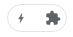 Icono del AMP Browser Extension cuando entramos a una página que no sea compatible con AMP.