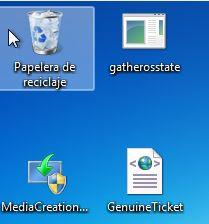 PC con Windows 7 mostrando el archivo GenuineTicket.xml.